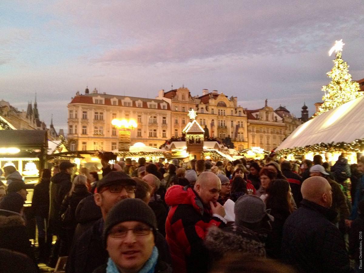 Прага в декабре фото туристов включает себя